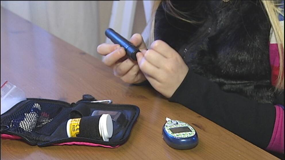 Stress drabbar mammor till barn med diabetes.