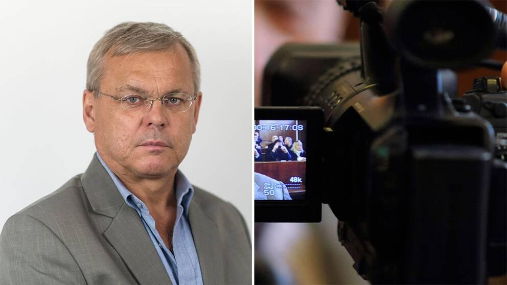 SVT:s utrikesreporter Bert Sundström.