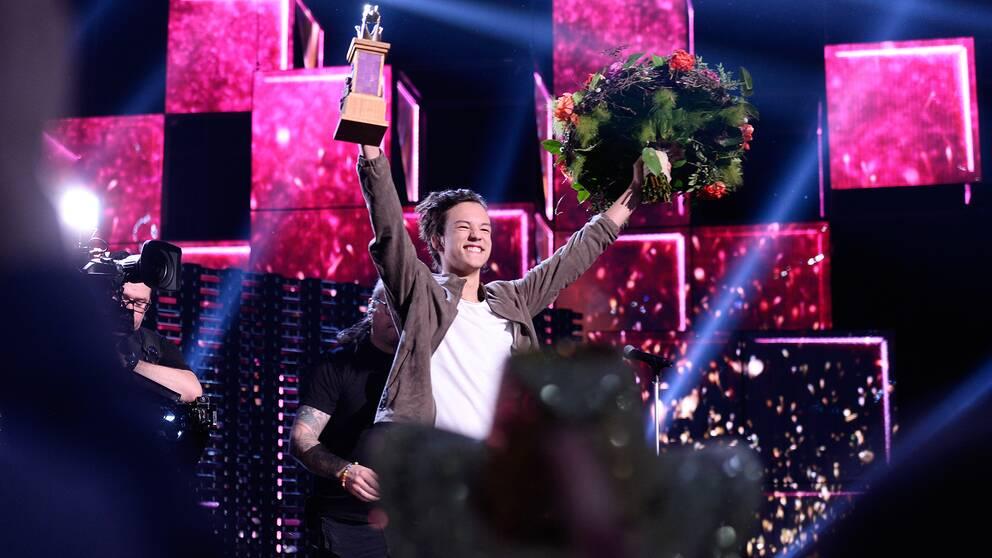 Frans vinner Melodifestivalen 2016