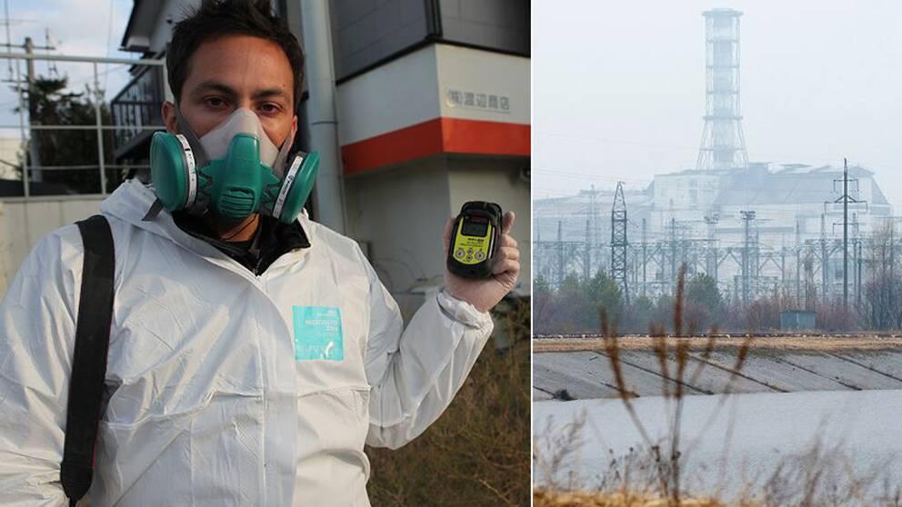 Vetenskapsjournalisten Derek Muller har besökt Tjernobyl, 30 år efter kärnkraftsexplosionen.