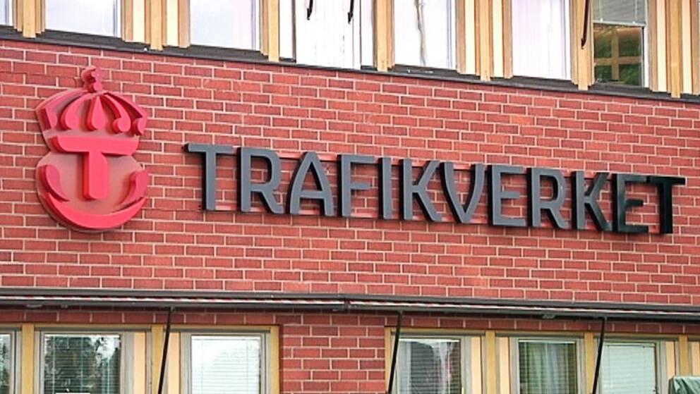 Fasad Trafikverkets huvudkontor i Borlänge