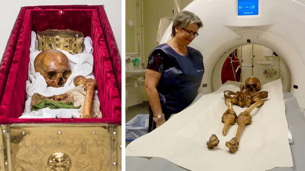 Erik den heliges kvarlevor har analyserats av bland andra professor Sabine Sten.
