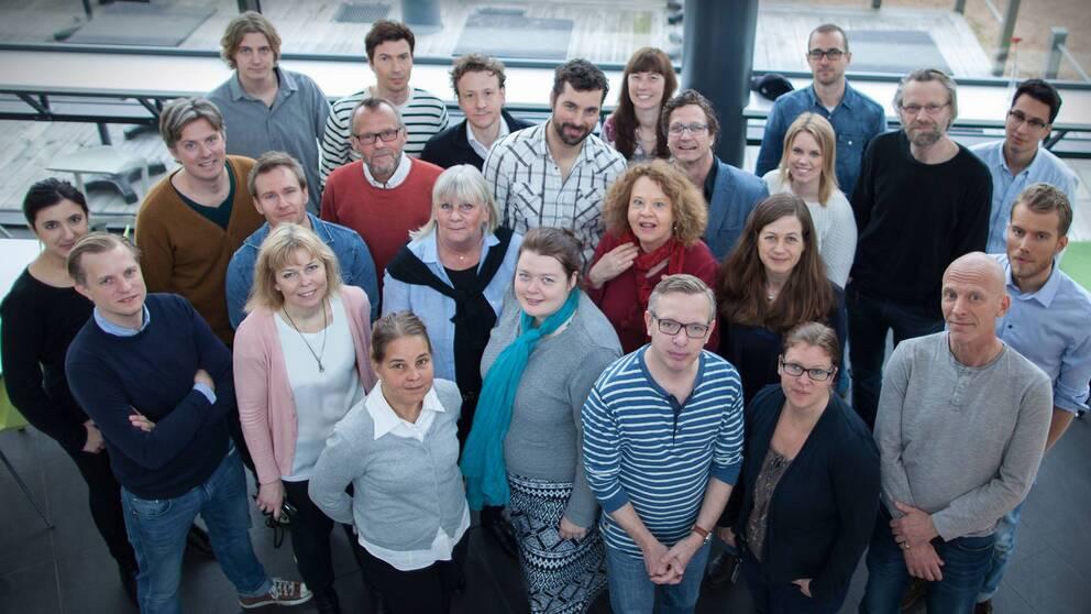 redaktionsmedlemmar på SVT Nyheter Väst
