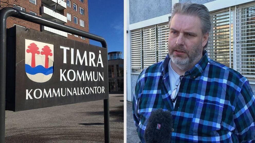 Lars-Erik Byström, vice ord arbetarekommunen Timrå