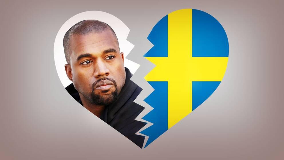 Det blir inget samarbete med Kanye West.