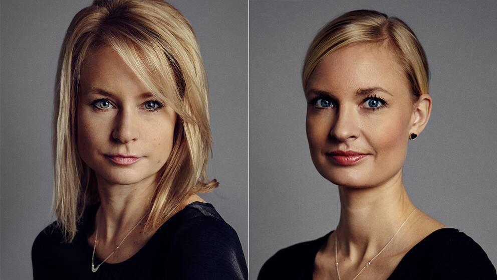 Cecilia Bödker Pedersen och Marika Kruse-Høyem.