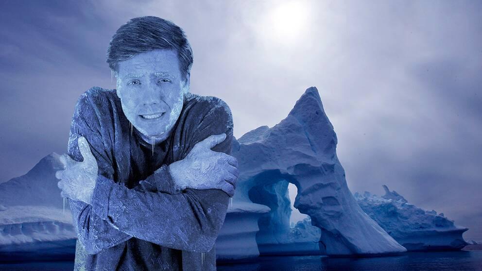Meteorologen Nils Holmqvist varnar för arktisk kyla den kommande veckan.