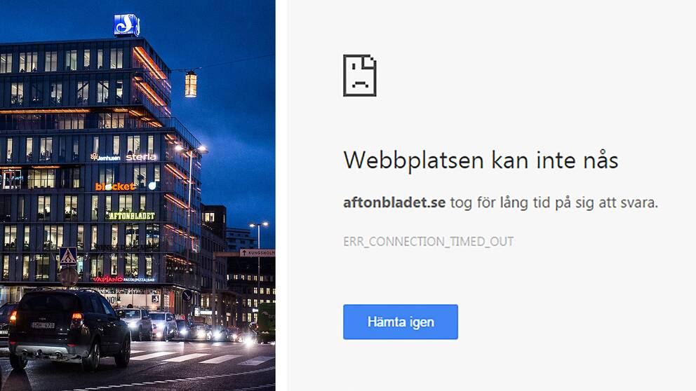 Schibstedthuset i centrala Stockholm som bland annat innehåller Aftonbladets redaktion.