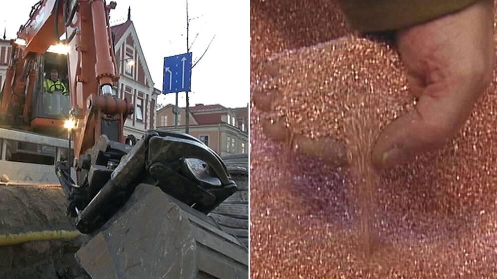 Metaller värt flera miljarder kronor finns under marken i Sverige.