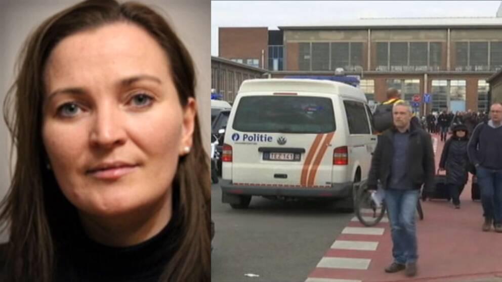 Svenska Dagbladets reporter Theresa Küchler var på flygplatsen här det exploderade och lämnade den här rapporten.
