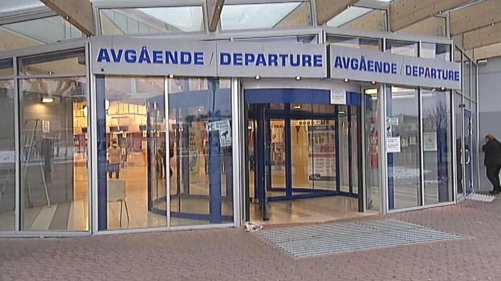Skavsta flygplats avgångsterminal