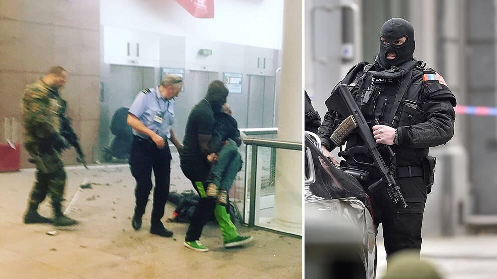 32 personer dog och 270 skadades vid terrorattentaten på Bryssels flygplats och Bryssels tunnelbana den 22 mars.