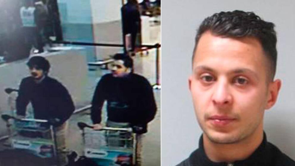 Bröderna ska vara kända av polisen sedan tidigare men då för organiserad brottslighet, inte terrorism. Till höger i bild Salah Abdeslam.