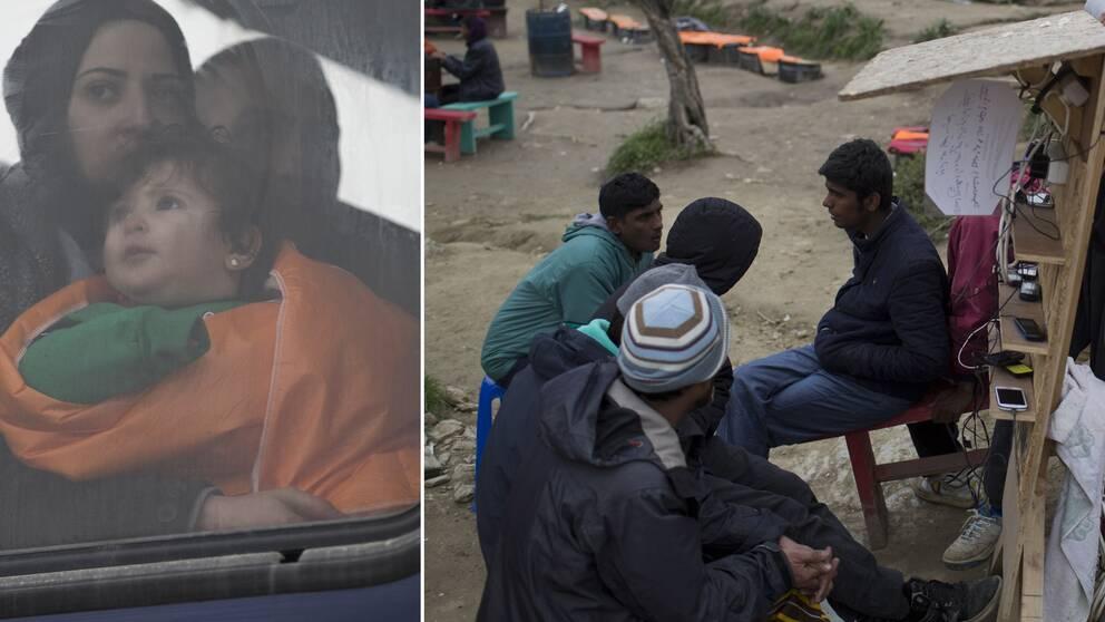 Flyktingar kommer att skickas tillbaka till Turkiet.