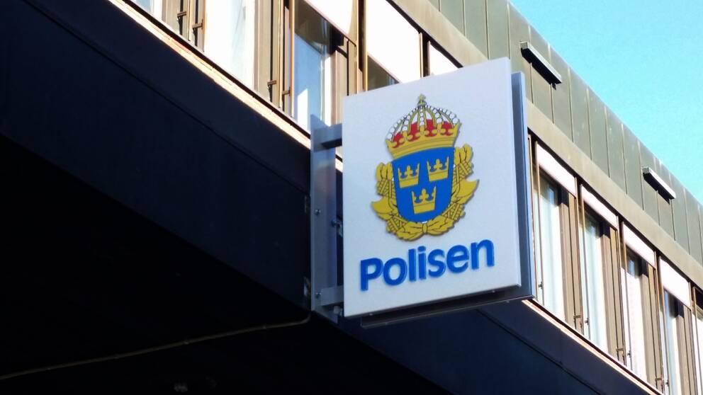 Polisstationen i Hallsberg