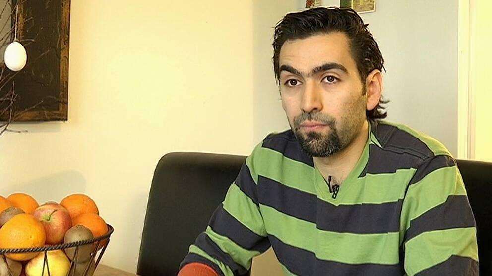 Amjad Shammaa berättar hur lätt det är att hitta en svart bostad.