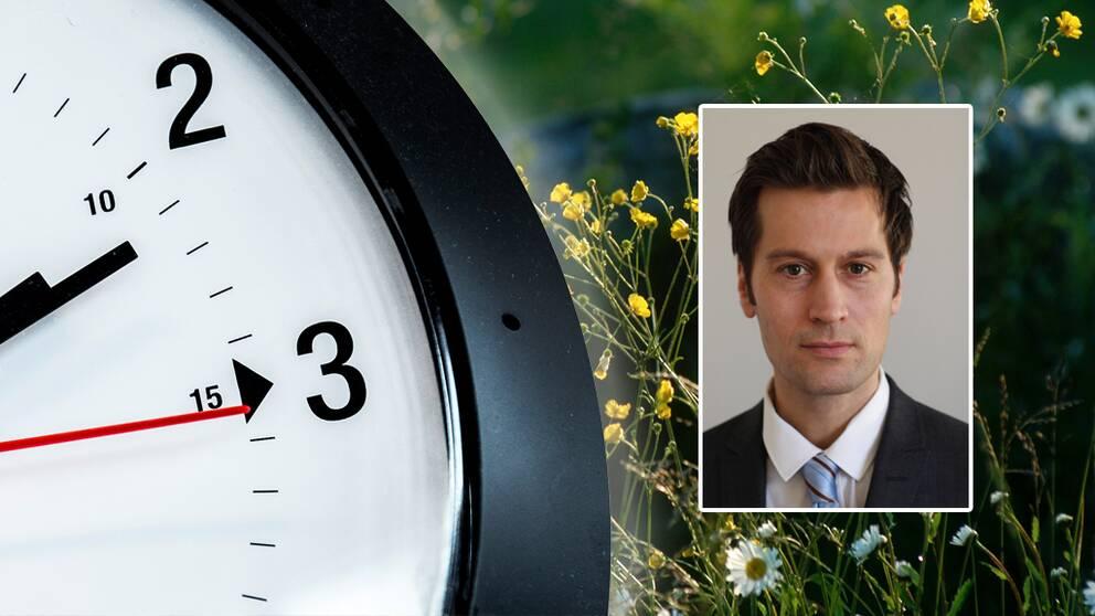 Christian Benedict, sömnforskare och docent i neurovetenskap vid Uppsala universitet.