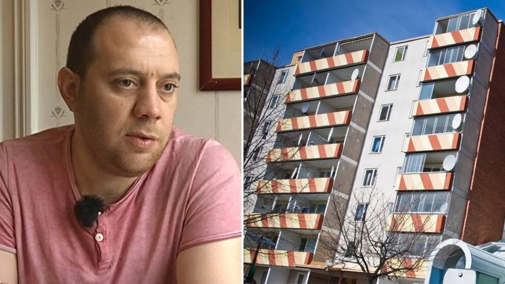 Nyanlända i Södertälje berättar om bostadssituationen.