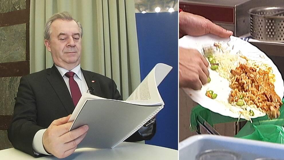 Sven-Erik Bucht, mat som slängs
