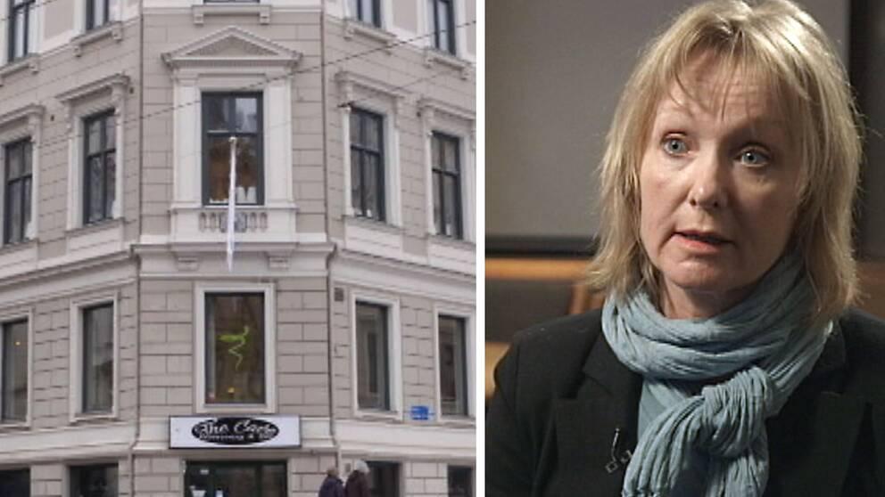 Kammaråklagare Katarina Stenström Ros på riksenheten mot korruption om svartkontrakt.