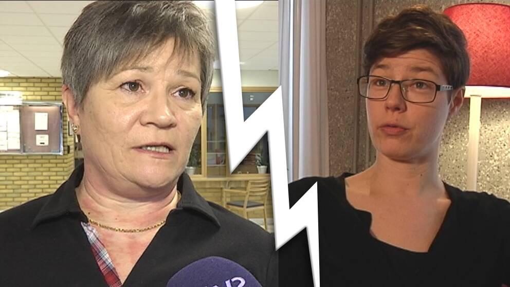 Ordförande i socialtjänsten i Gällivare och barnombudsmannen i Uppsala.