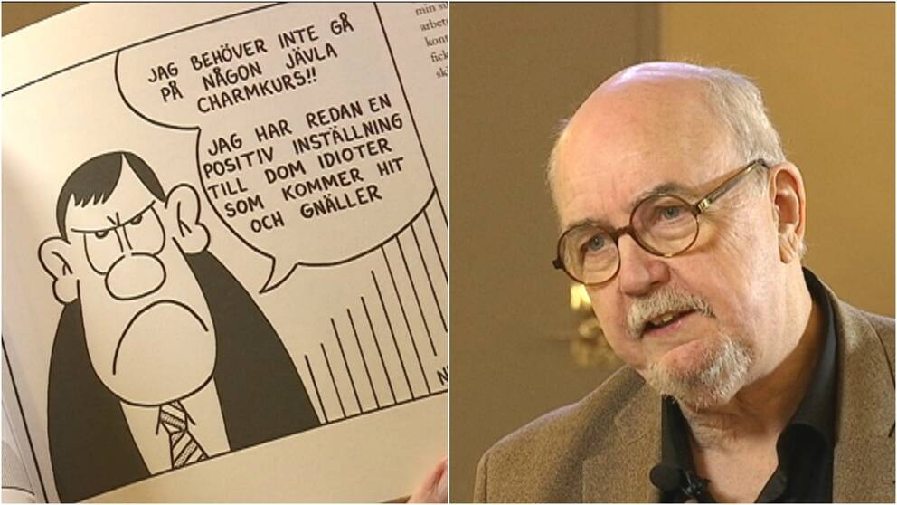 Ulf Ivar Nilsson, satirtecknare