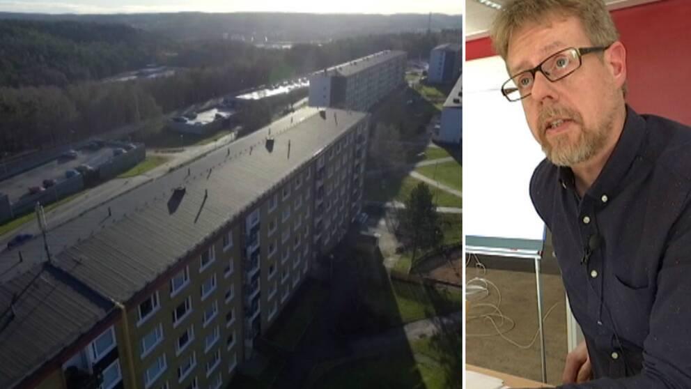 De sänkta kraven innebär inte per automatik att det blir lättare att få lägenhet berättar Micael Nilsson.