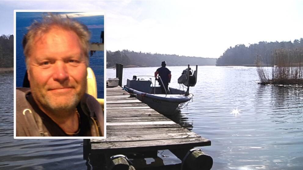 Peter Olsson, ordförande för SFPO, har jobbat som fiskare i 30 år.