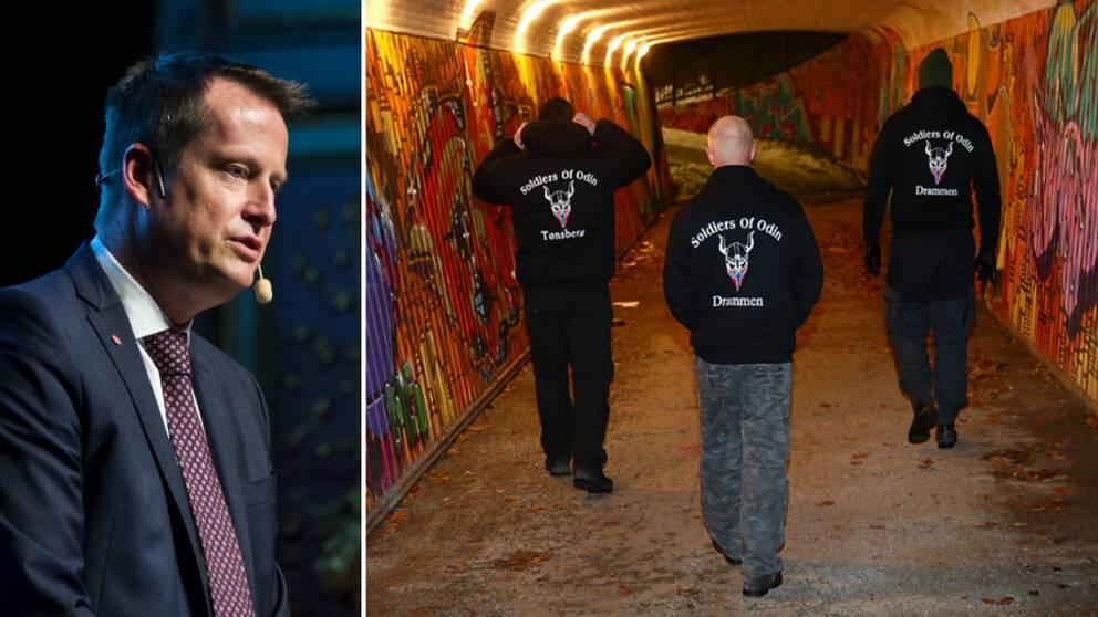 – Det sista vi behöver för att ha ordning och reda i Sverige är högerextrema brottslingar på gatorna, säger inrikesminister Anders Ygeman.