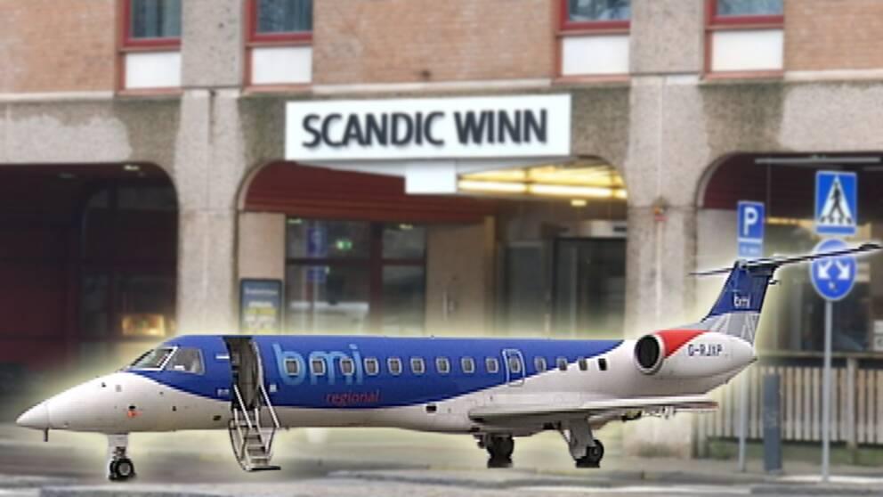 Nytt avslöjande om Karlstad Airport