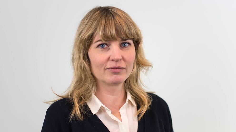 Johanna Cervenka, ekonomireporter på SVT.