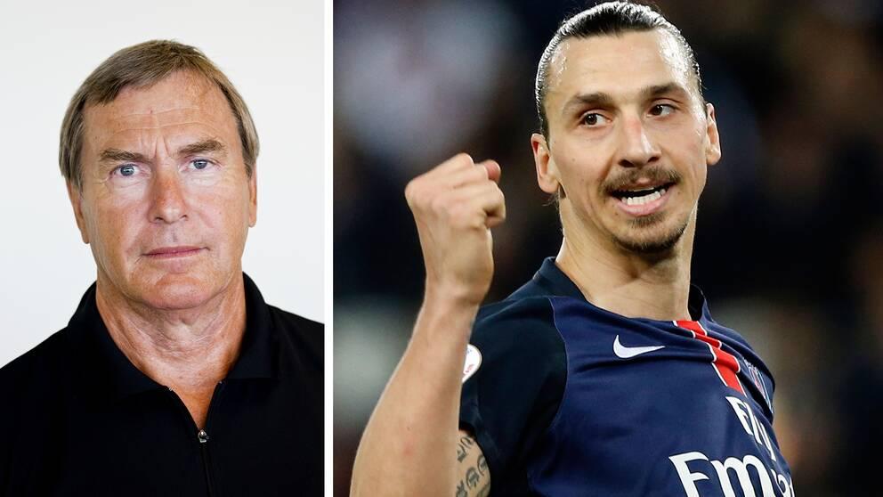 Ulf Karlsson, tidigare förbundskapten för för friidrott. Zlatan Ibrahimovic, fotbollsspelare.