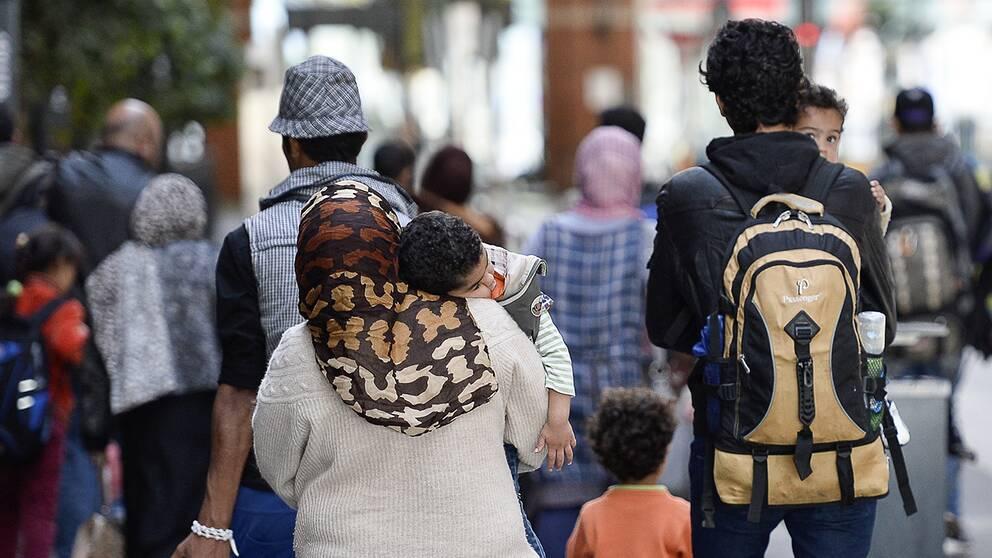 Asylsökande i Malmö.