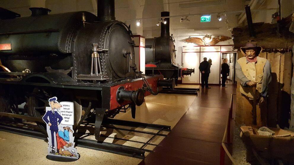 Ett och ett halvt år beräknar renoveringen av Järnvägsmuseet att ta.