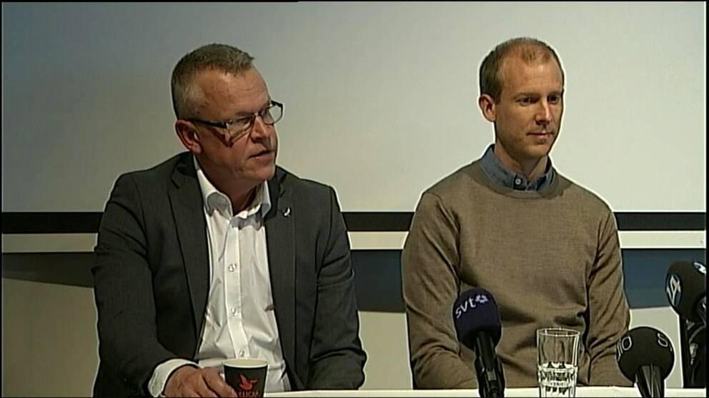 Janne Andersson berättade för spelarna under samlingen inför matcken mot Kalmar på onsdagen. Förbundet tog första kontakten med Andersson angående förbundskaptensjobbet för fyra veckor sedan.