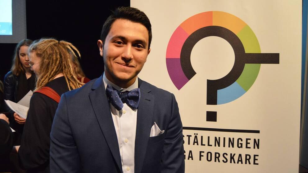 Mustafa Al-Janabi är Årets unga programmerare