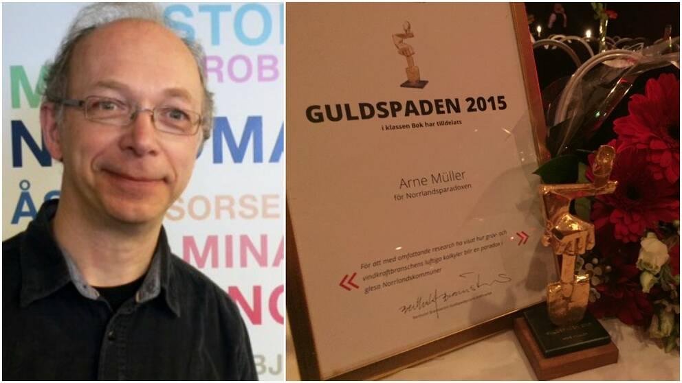 Arne Müller Guldpade Pris