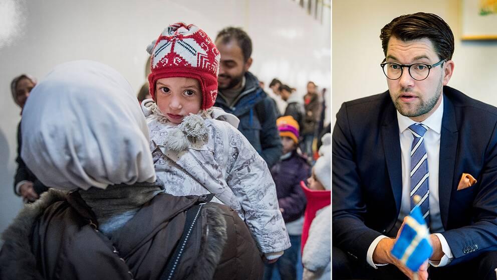 Sverigedemokraterna vill att flyktingar ska stoppas från att få en rad olika bidrag.