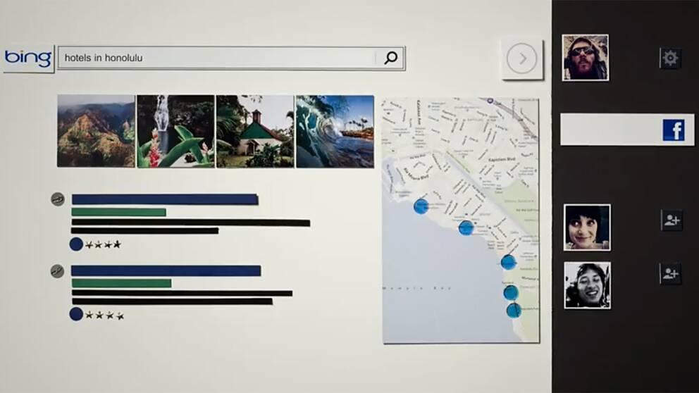 Bing kopplar ihop sökmotor och Facebook