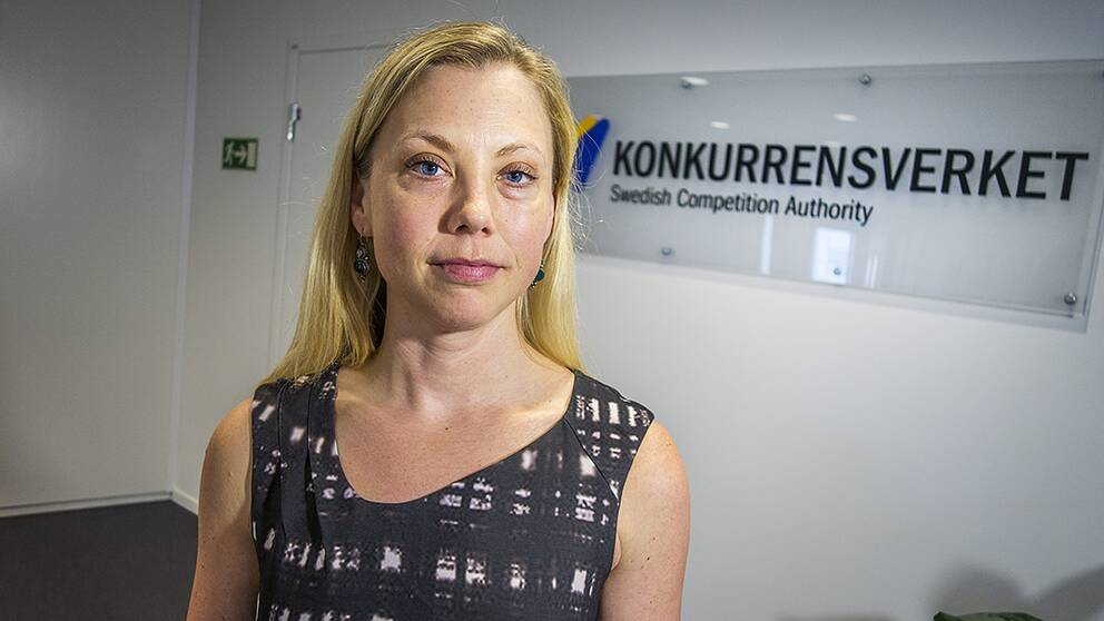 Malin de Jounge, enhetschef på Konkurrensverket.