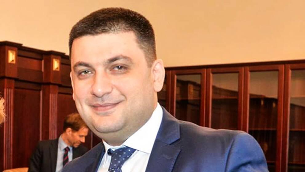 Volodymyr Hrojsman.