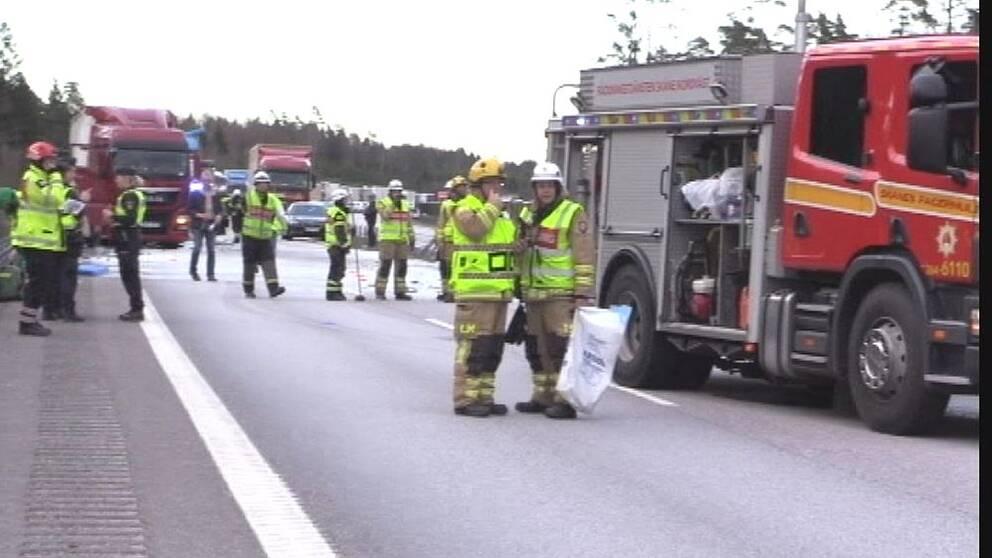Trafikolycka, Örkelljunga