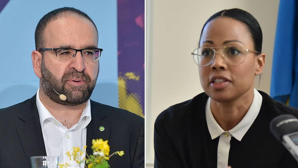 Mehmet Kaplan och Alice Bah-Kunke.