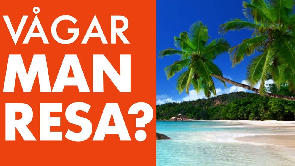 Våga man resa till exotiska länder?