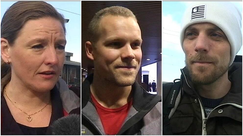 Therese Sjölund, vd Åre Destination, Dennis Theander, Jönköping, Christoffer Oskarsson, Jönköping