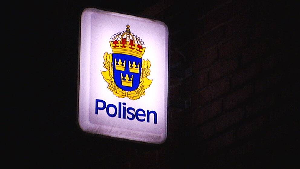 Polisskylt