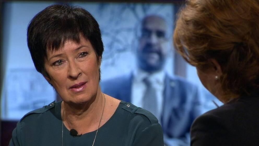 Mona Sahlin (S), nationell samordnare mot våldsbejakande extremism.