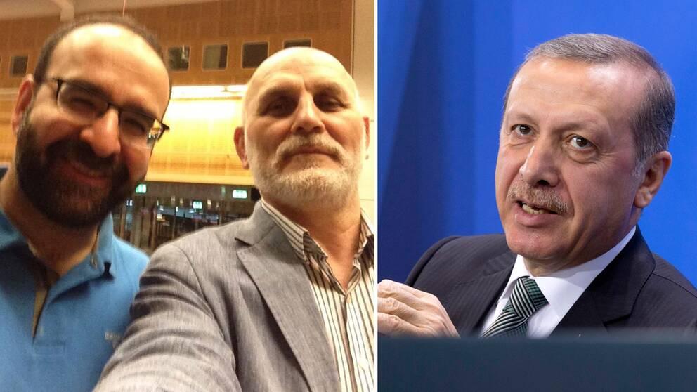 Erdogan och Kaplan.