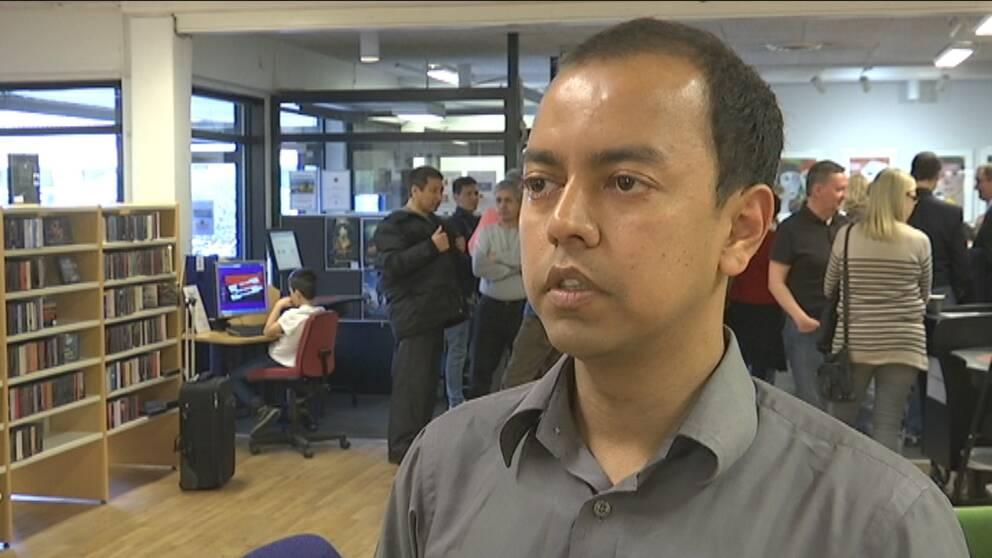 Syed, Linked in, Bangladesh, språkkafé