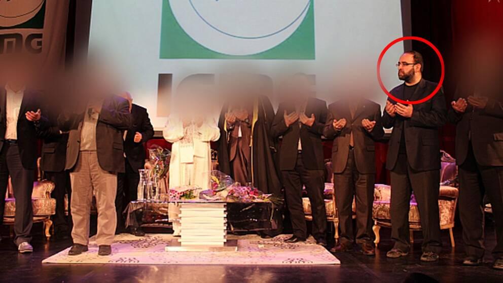 Mehmet Kaplan (MP) har vid flera tillfällen träffat representanter för den islamistiska organisationen Milli Görüs.